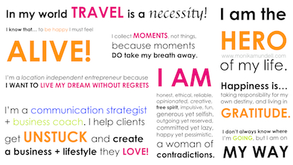 how to write a business manifesto
