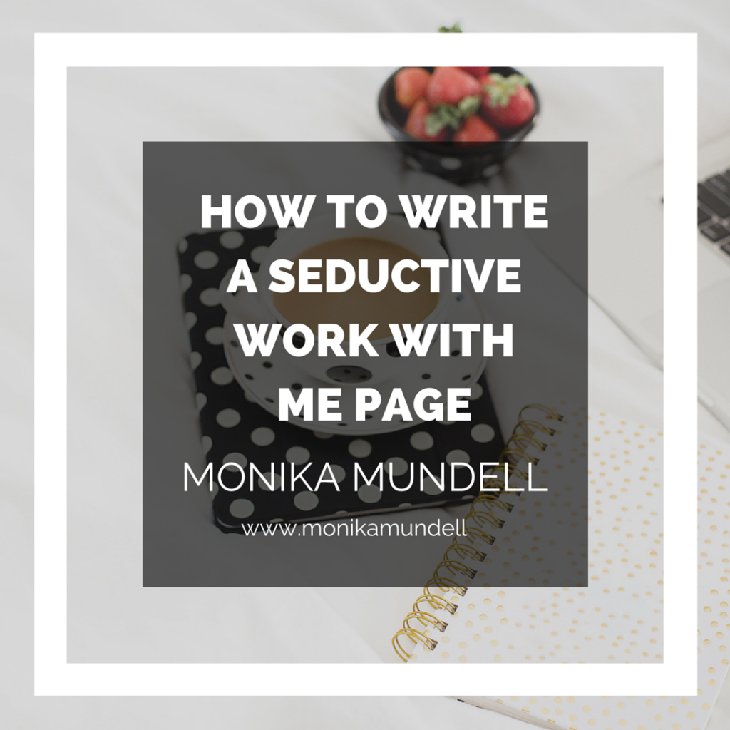 howtowriteaseductiveworkwithmepage