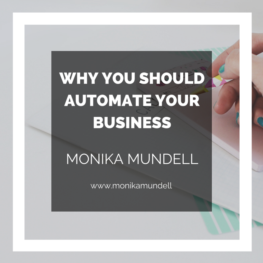 WHY YOU SHOULDAUTOMATE YOURBUSINESS