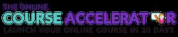the online course accelerator logo
